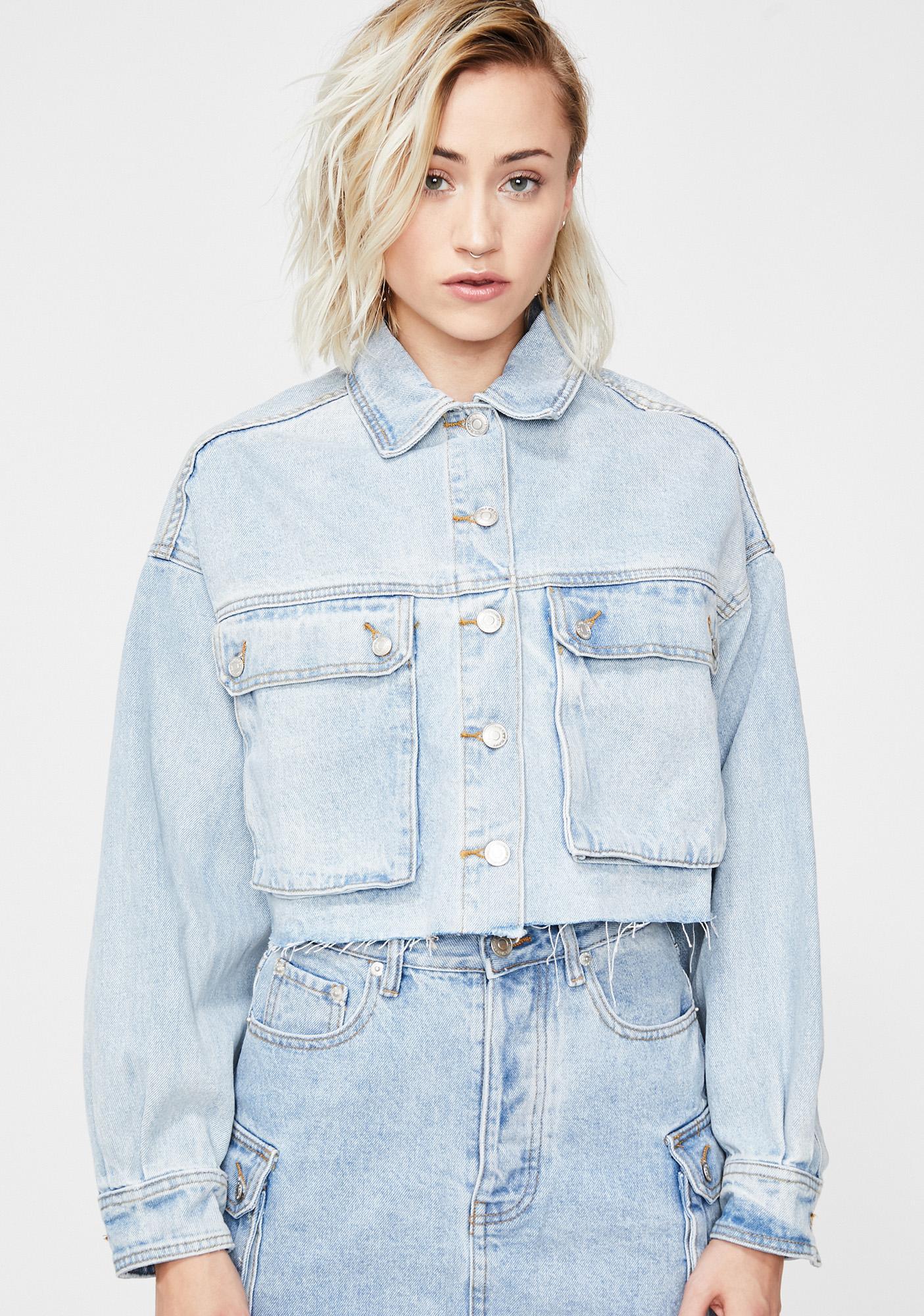 Just Chillin' Denim Jacket