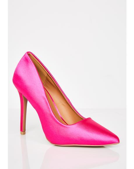 Barbie Tingz Satin Heels