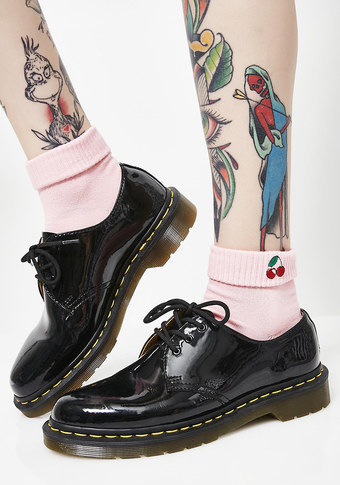 Yeah Bunny Pink Cherry Socks