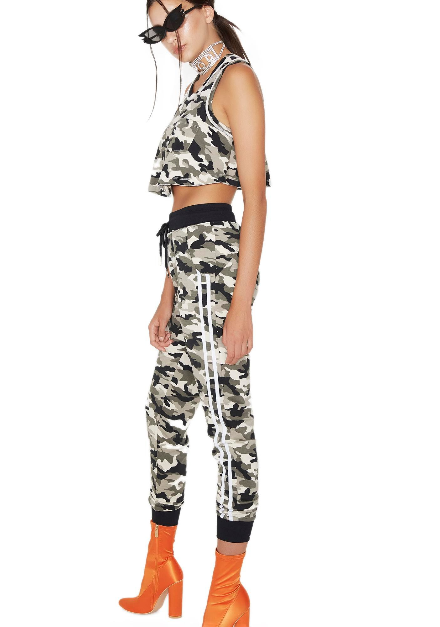 Hide Out Camo Sweatpants