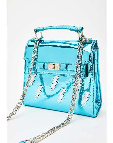 Aqua Thunder Crossbody Bag
