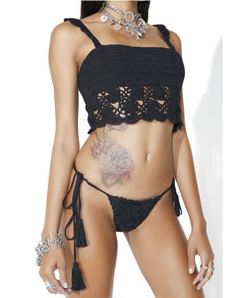 Weilea Crochet Bikini Bottoms