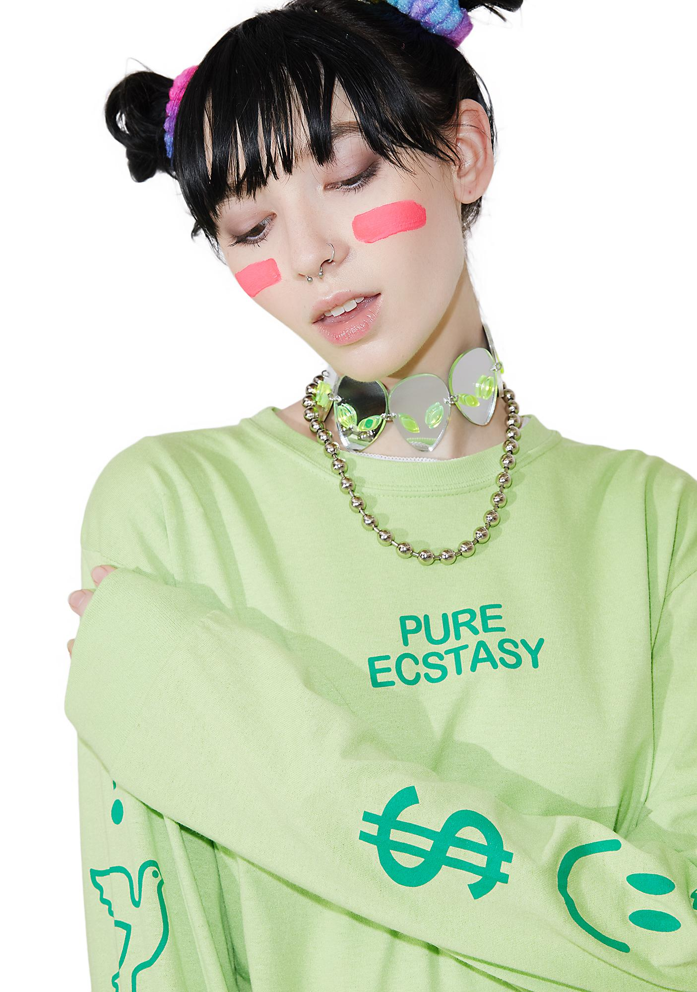 Petals and Peacocks Pure Ecstasy Shirt