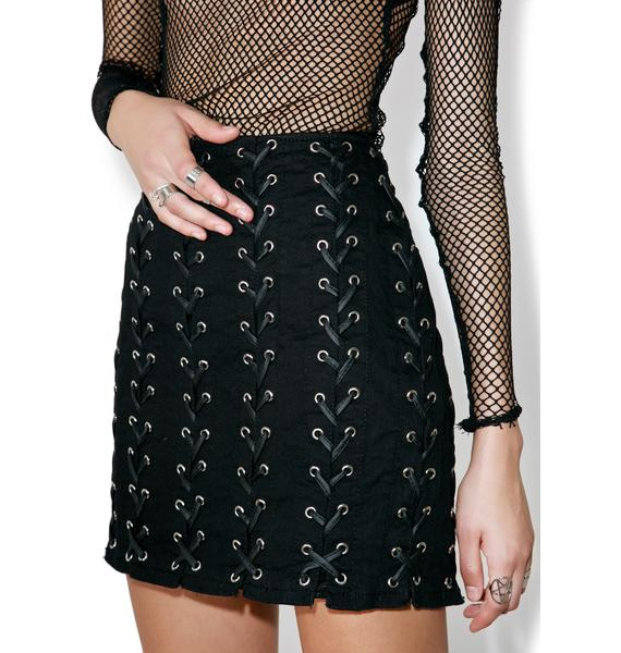 Tripp NYC Medieval Mini Skirt