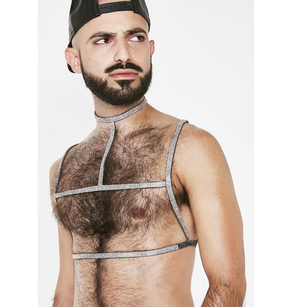 Poster Grl Wrapped In Cash Body Harness
