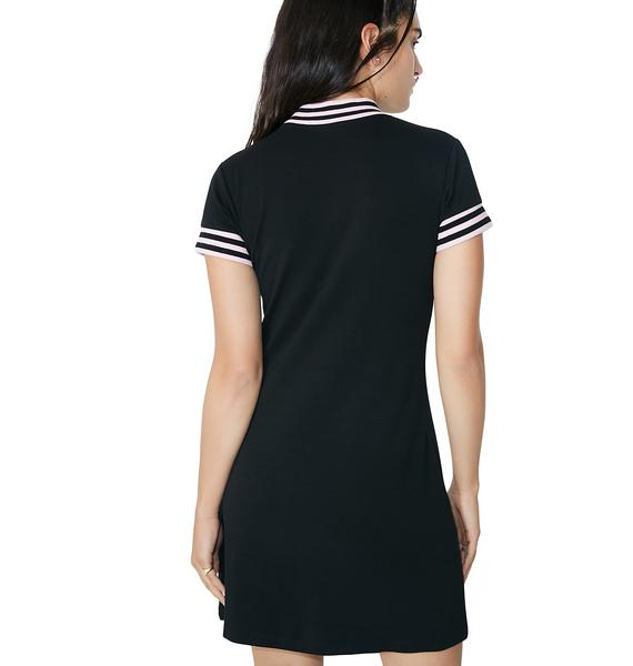 Lazy Oaf Sports Stripe Dress