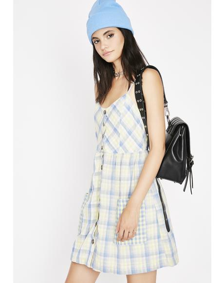 Boy Wrangler Plaid Sundress