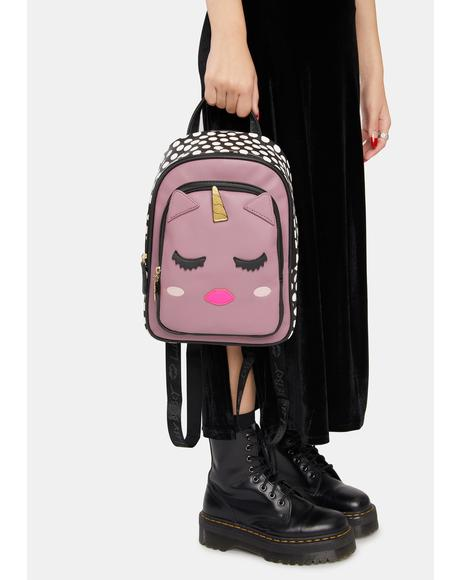 Kitsch Unicorn Mid Size Backpack