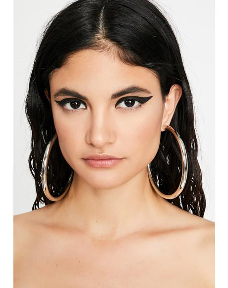 Temptin' Thots Hoop Earrings
