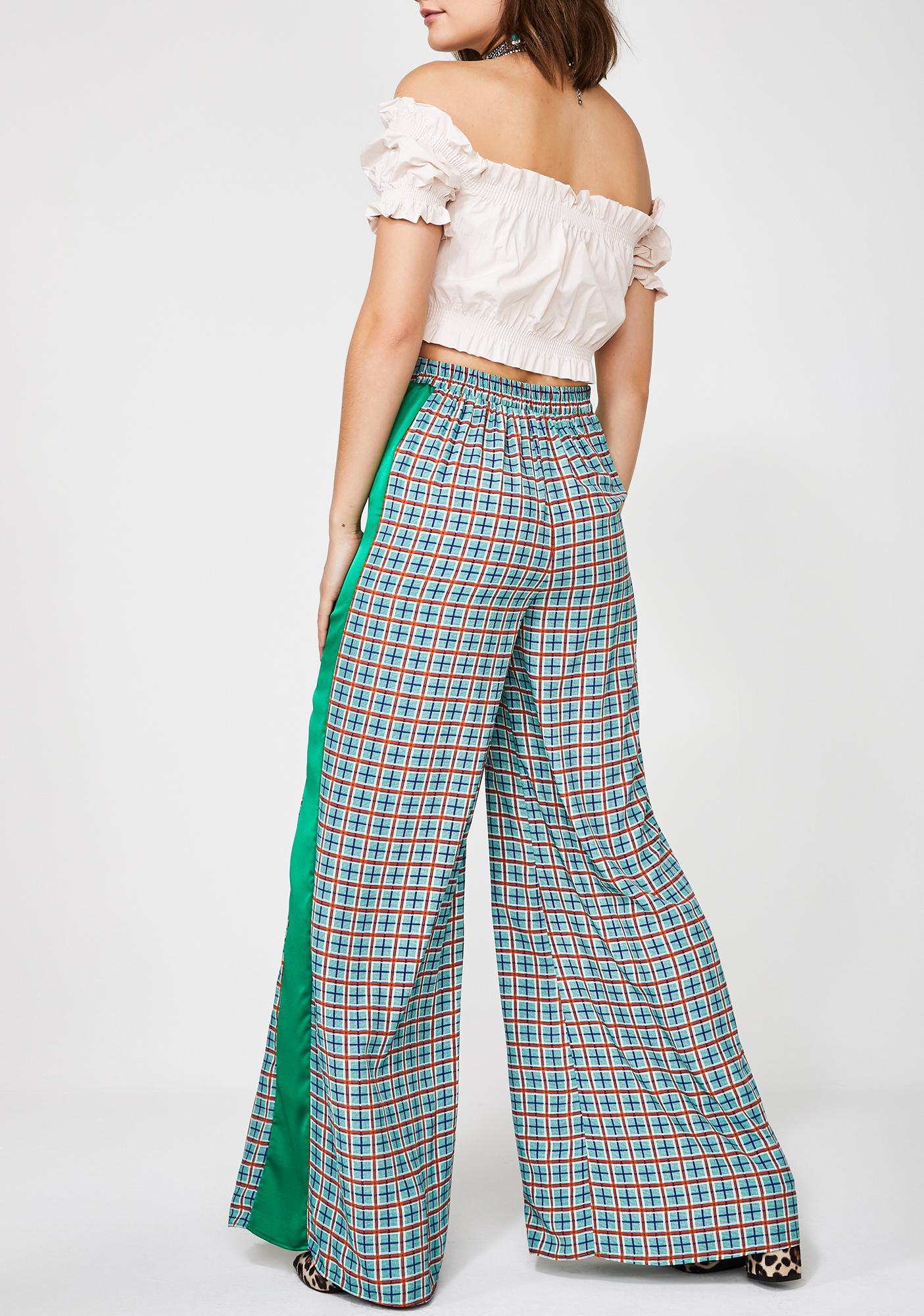 Glamorous Positive Thinking Wide Leg Pants