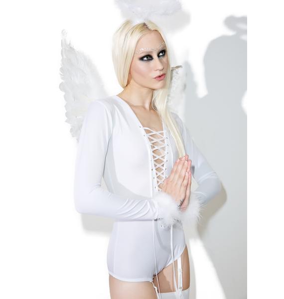 Dolls Kill Sexy Saint Costume Set