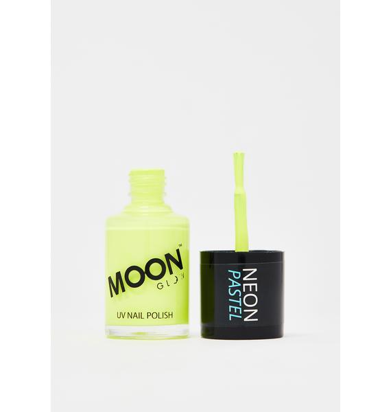 Moon Creations Pastel Yellow UV Nail Polish