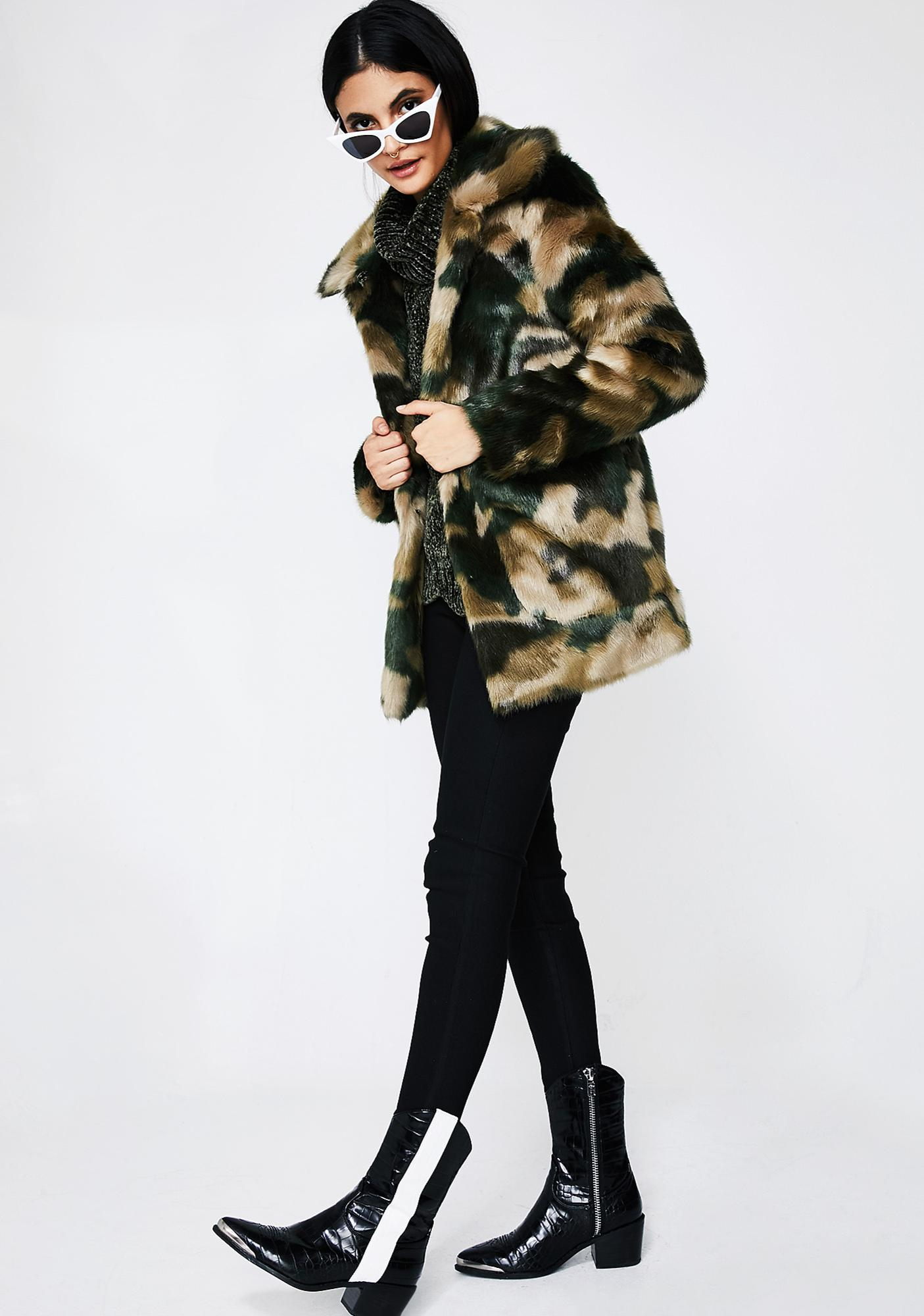 Jakke Camo Tammy Coat