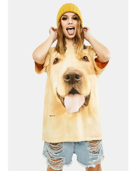 Big Face Golden Graphic Tee