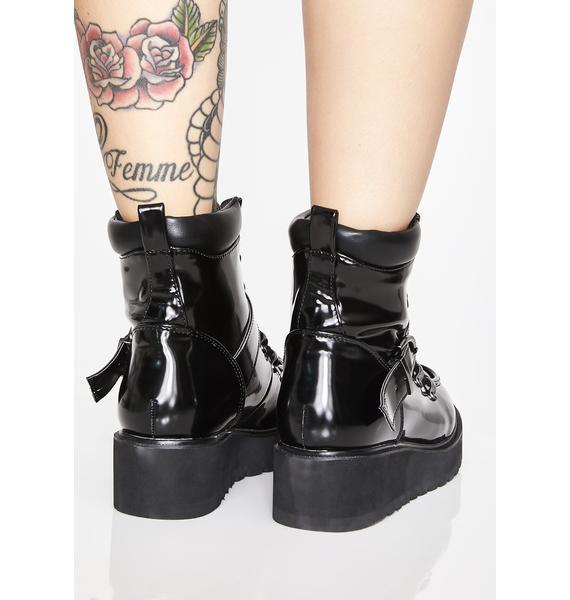 Defiant Doll Combat Boots