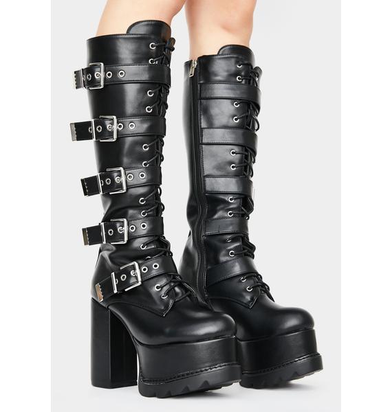 Lamoda Disguised Devil Platform Boots