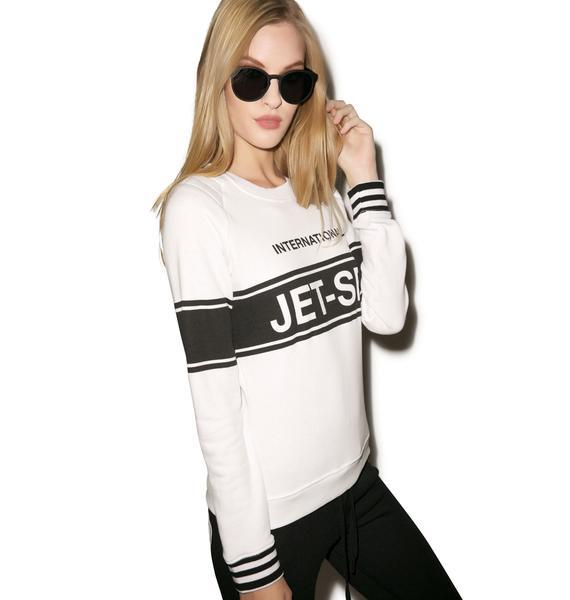 Zoe Karssen International Jetset Raglan Sweater