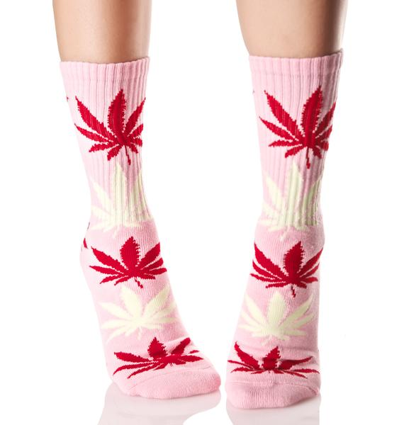 HUF Strawberry Plantlife Crew Socks