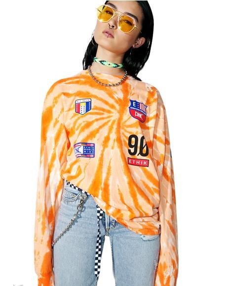 Trippy Sport Long Sleeve Tee