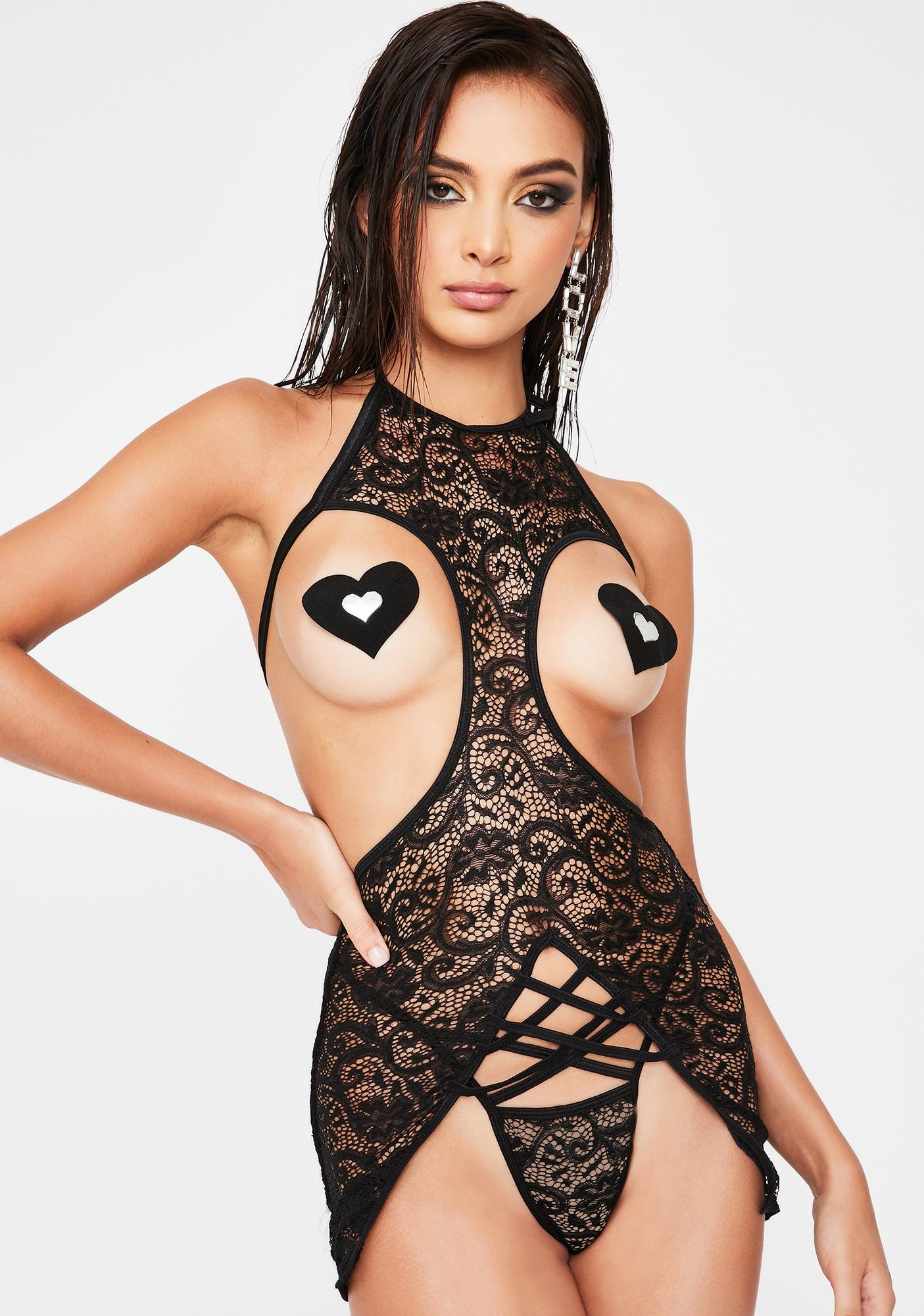 Get To It Lace Pasties Set