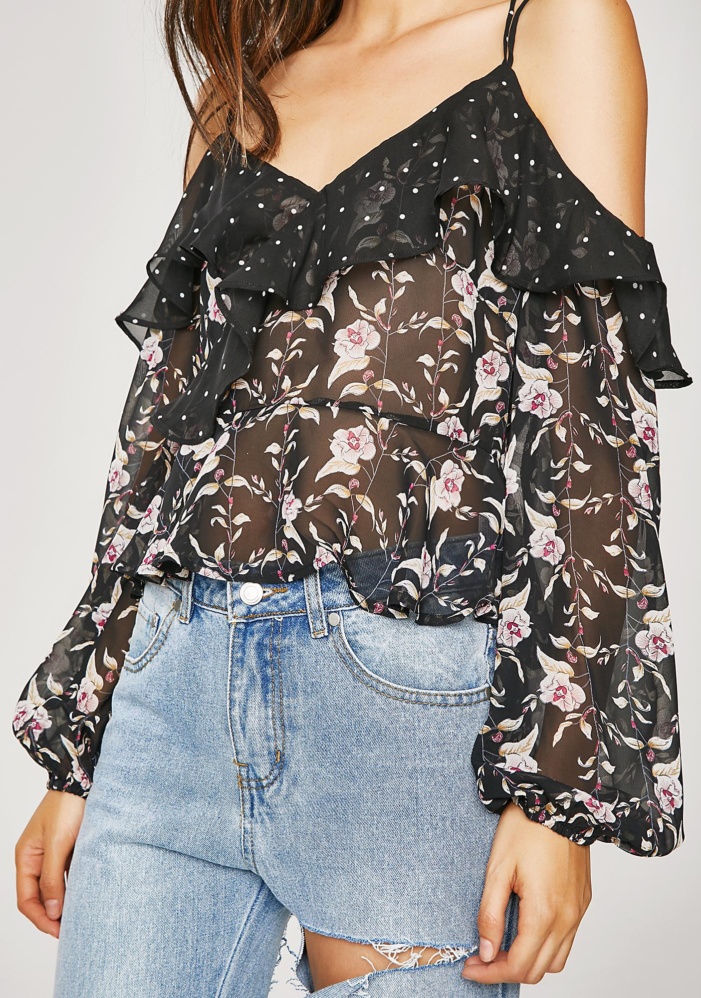 Sweet Talkin' Floral Top