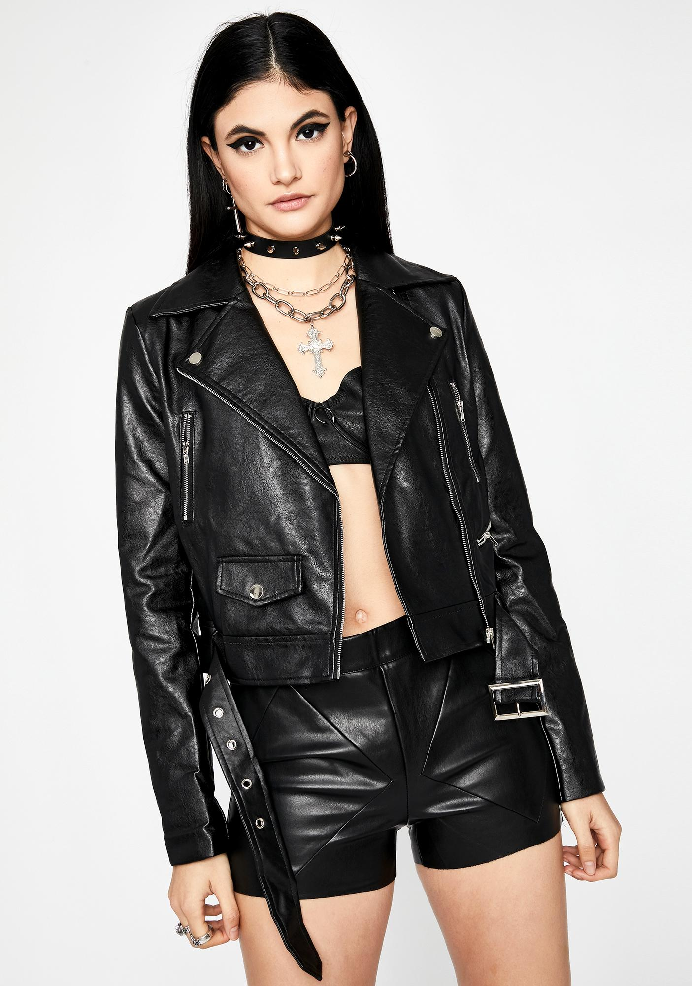 Roll Out Moto Jacket