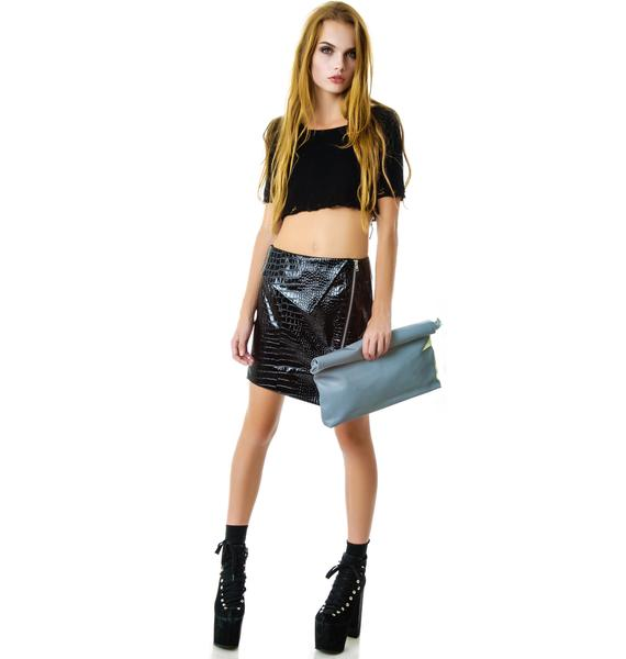 UNIF Reflective Realm Clutch