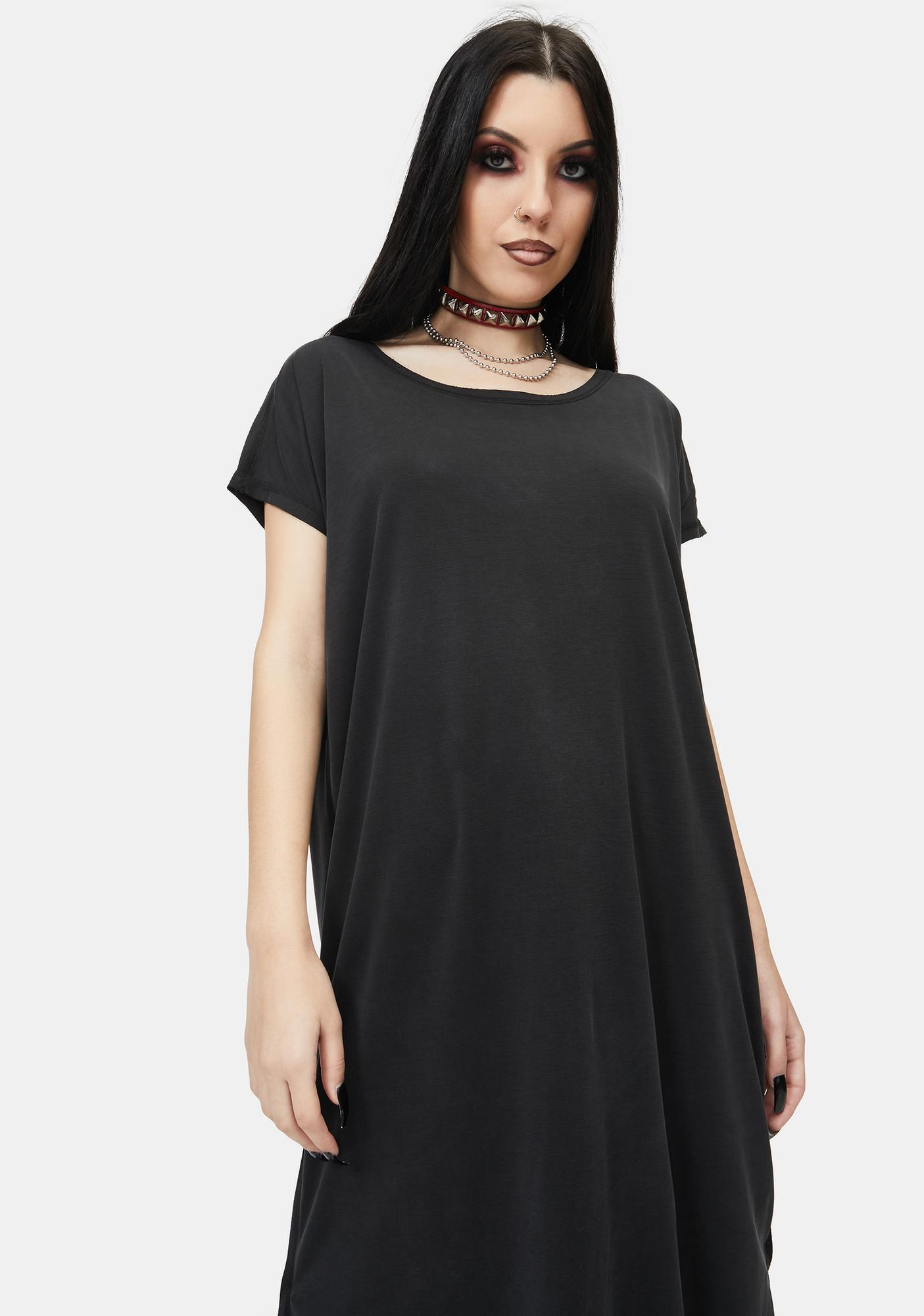 Have A Heart Jersey Midi Dress