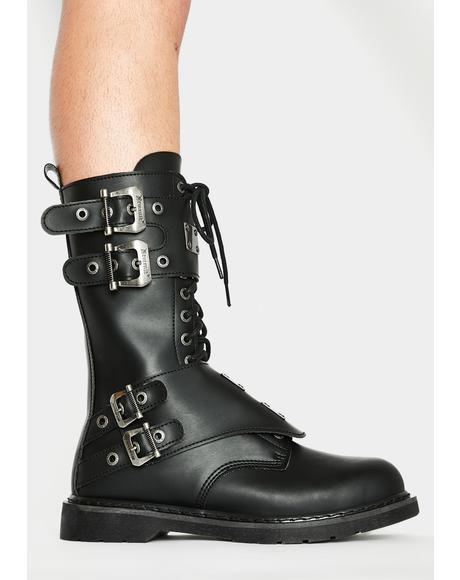 Terror Trooper Combat Boots
