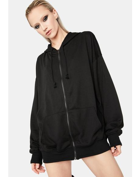 Tough As Nails Oversized Hoodie