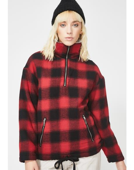 Baldwin Plaid Jacket