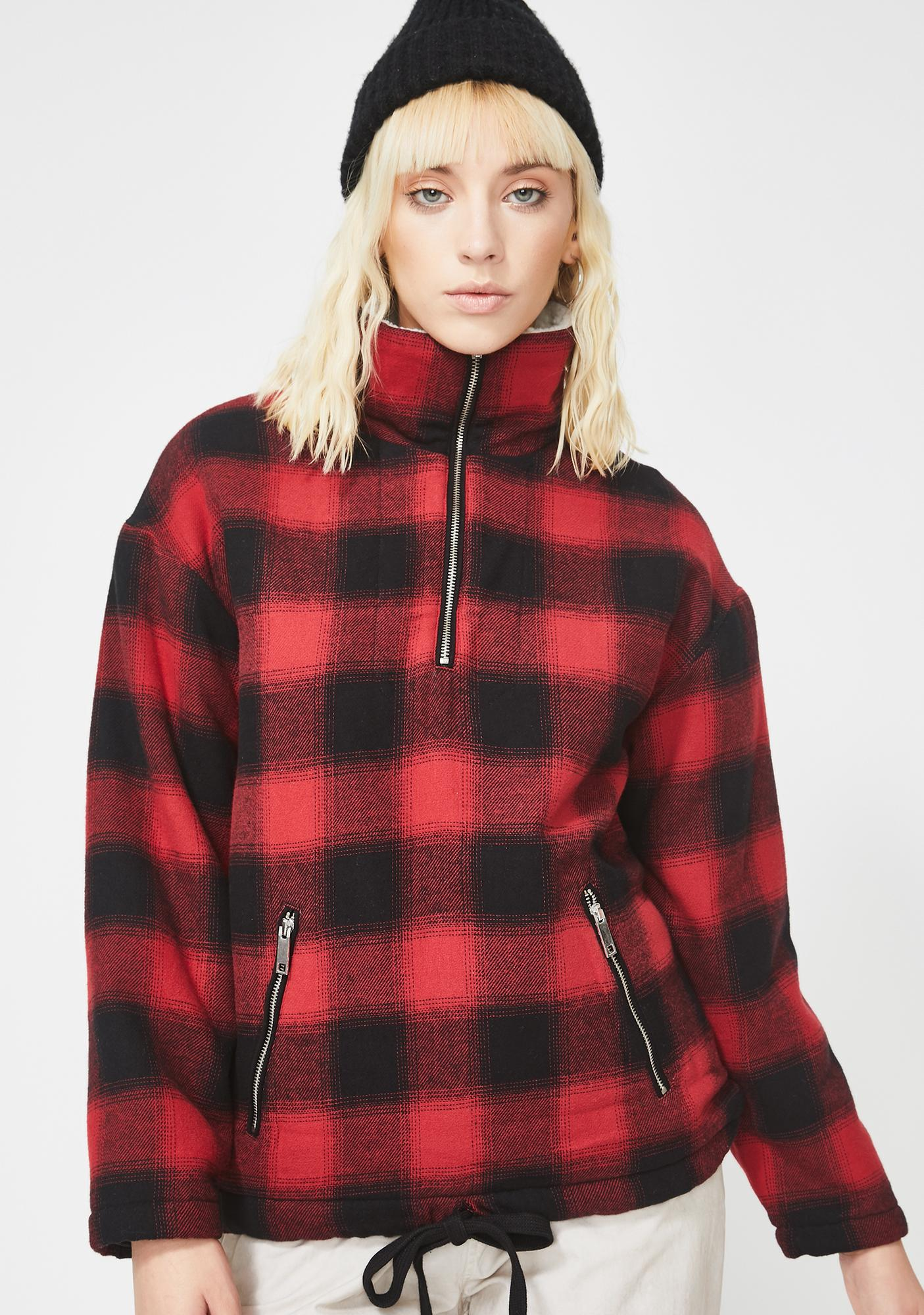 Pistola Baldwin Plaid Jacket