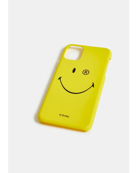 x Smiley iPhone Case