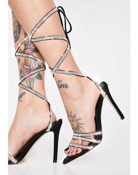 Charmed Rhinestone Heels