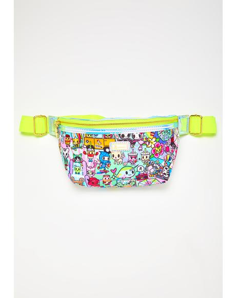 Sour Watercolor Paradise Fanny Pack