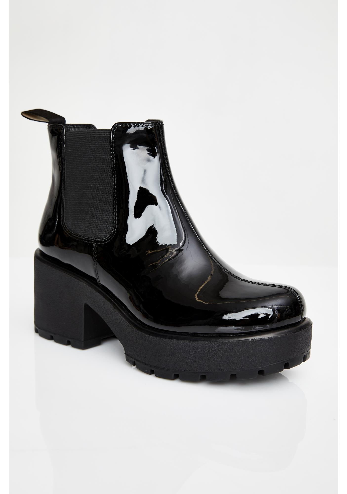 VAGABOND SHOEMAKERS Dioon Patent Leather Boots