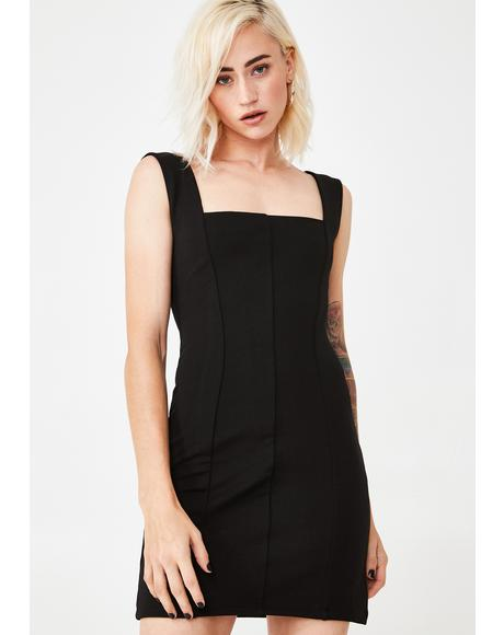 Stick To Business Mini Dress