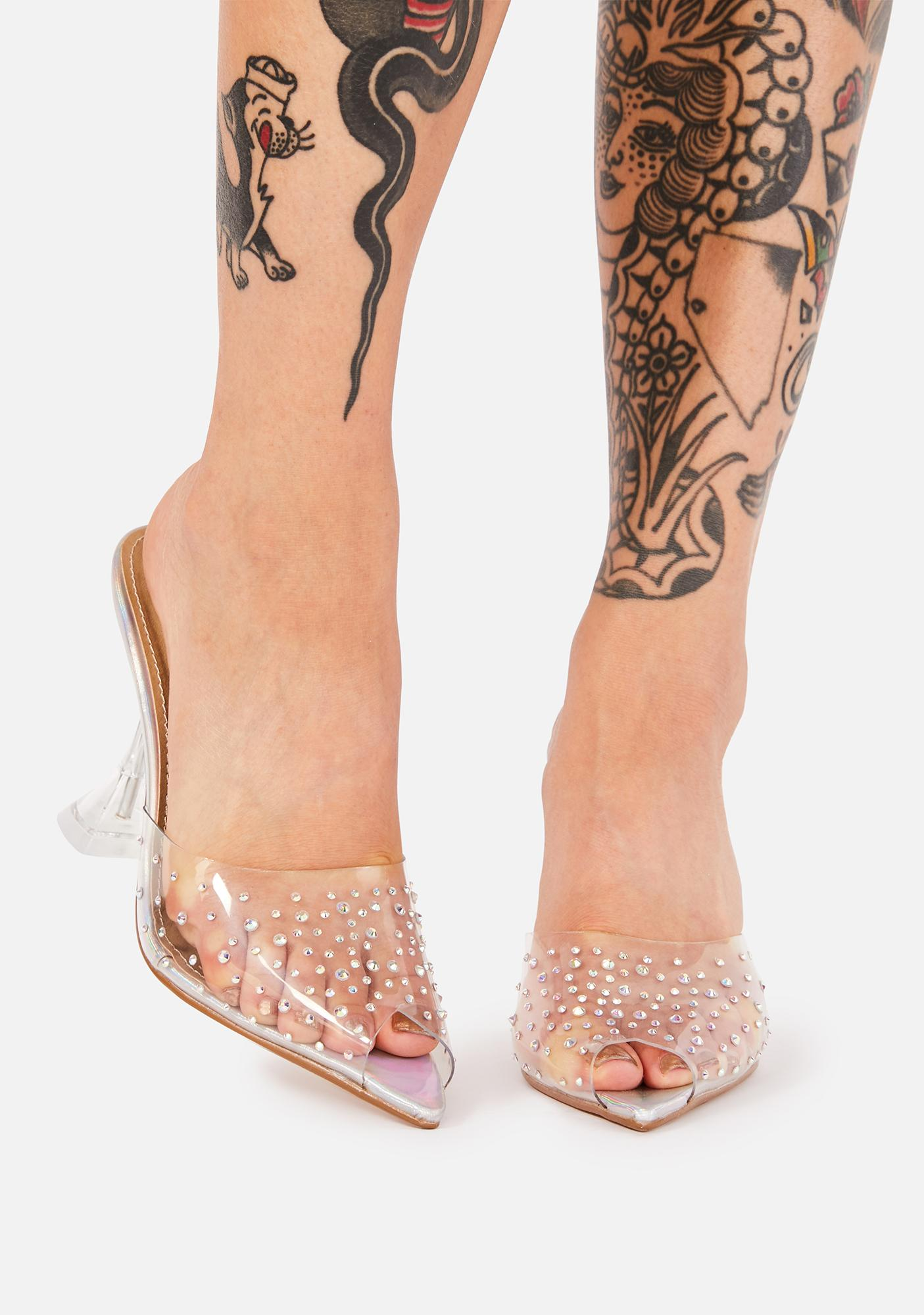 Not That Innocent Clear Heels