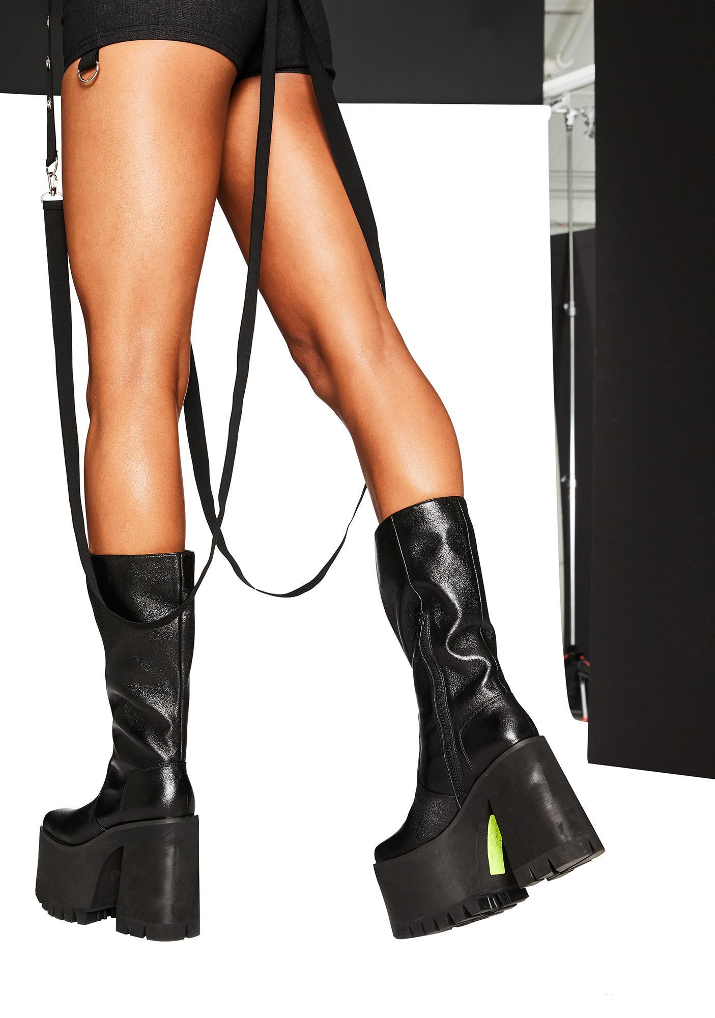 Club Exx Bass Rider Platform Boots