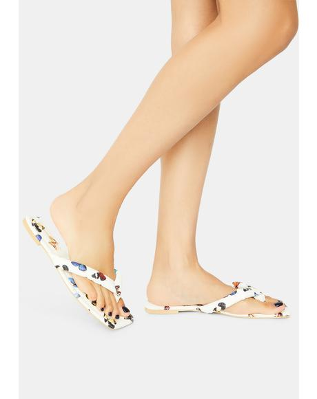 Butterfly Not A Flop Thing Slide Sandals