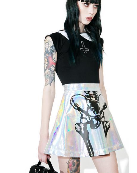 Wishbone Halo Skirt
