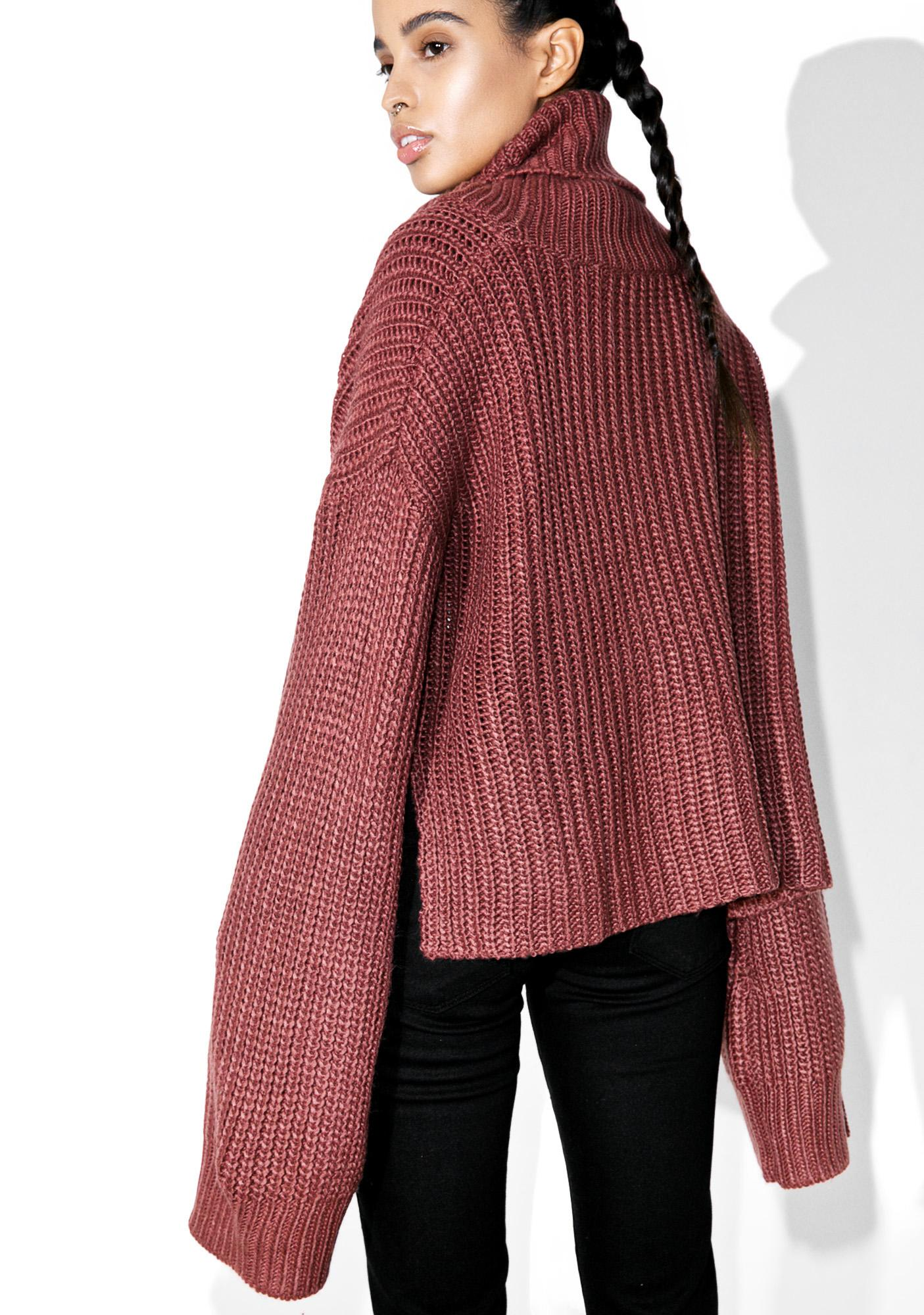 Stuck On Yew Turtleneck Sweater