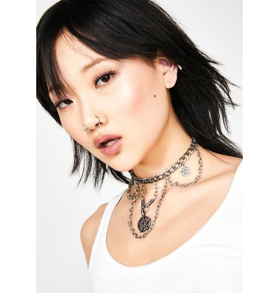 Babe Coven Pentagram Necklace