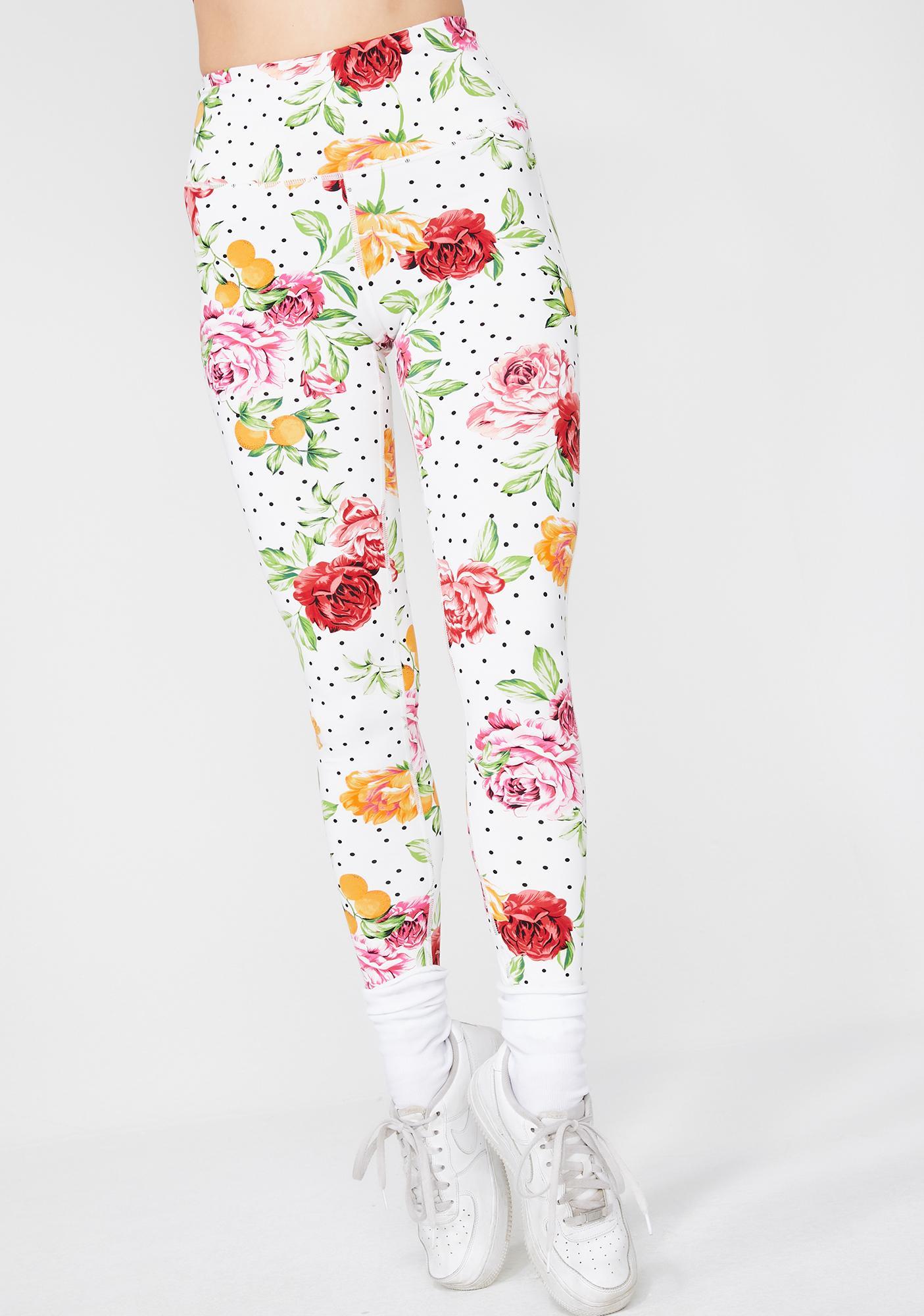 Summertime Fine Floral Leggings
