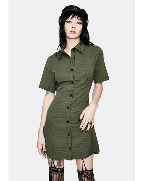 I Olive U Button Down Dress