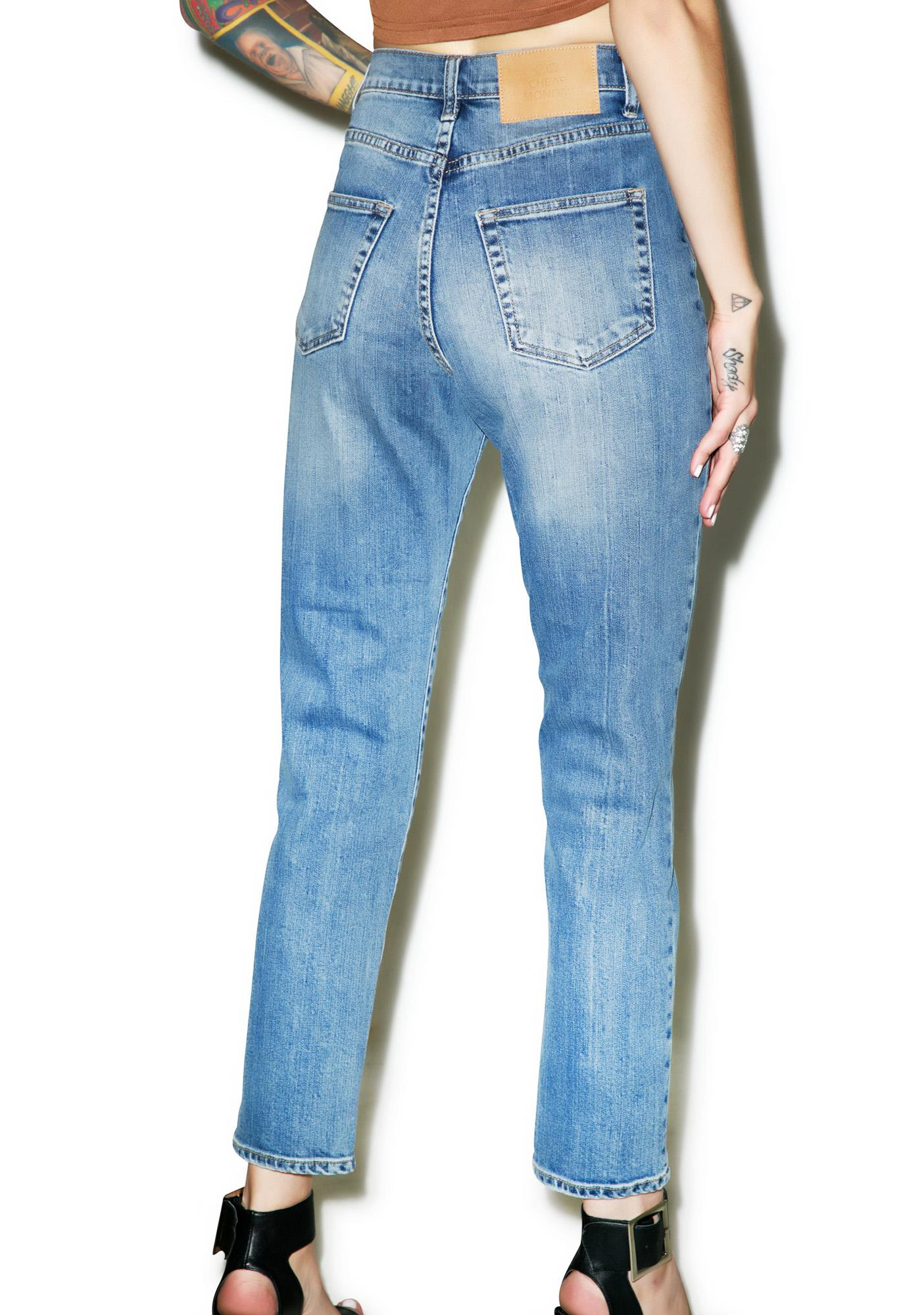 Cheap Monday Donna Mom Jean