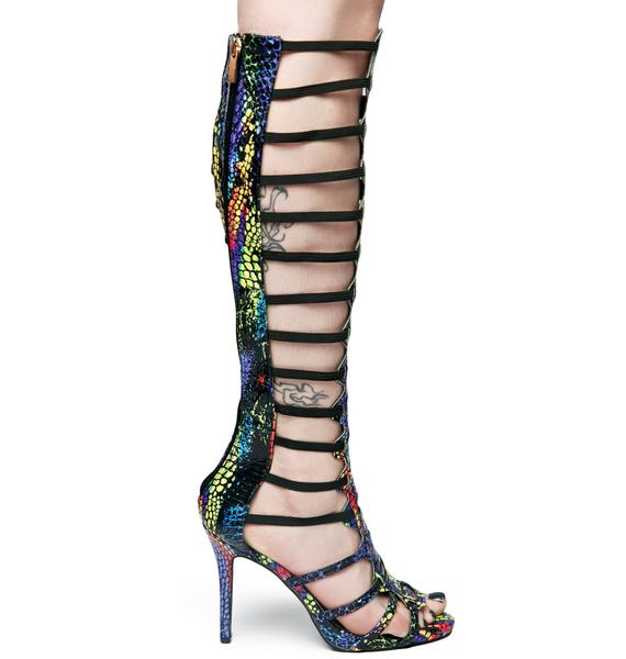 Lust For Life Ascension Gladiator Heels