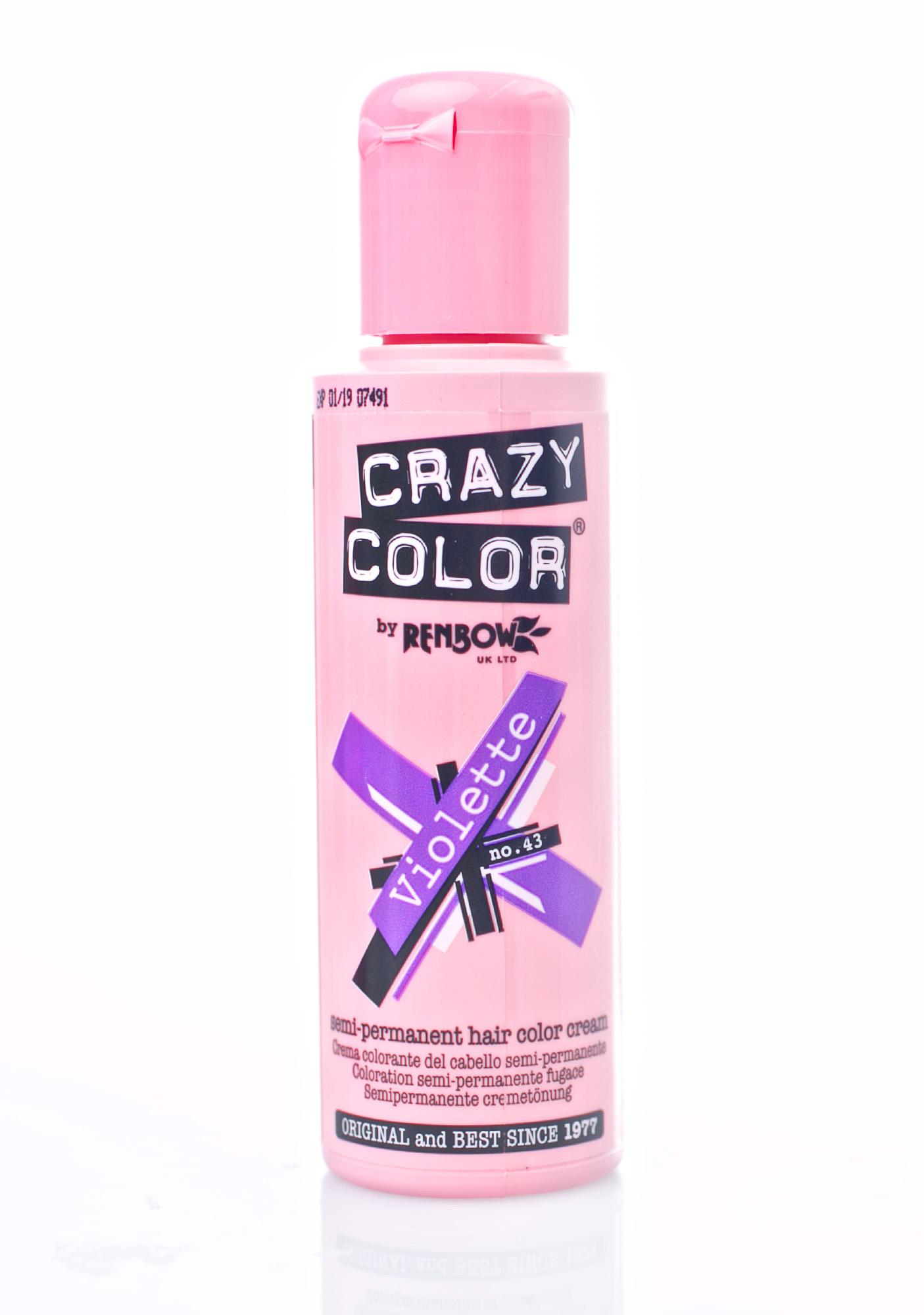 Crazy Color Violette Hair Dye