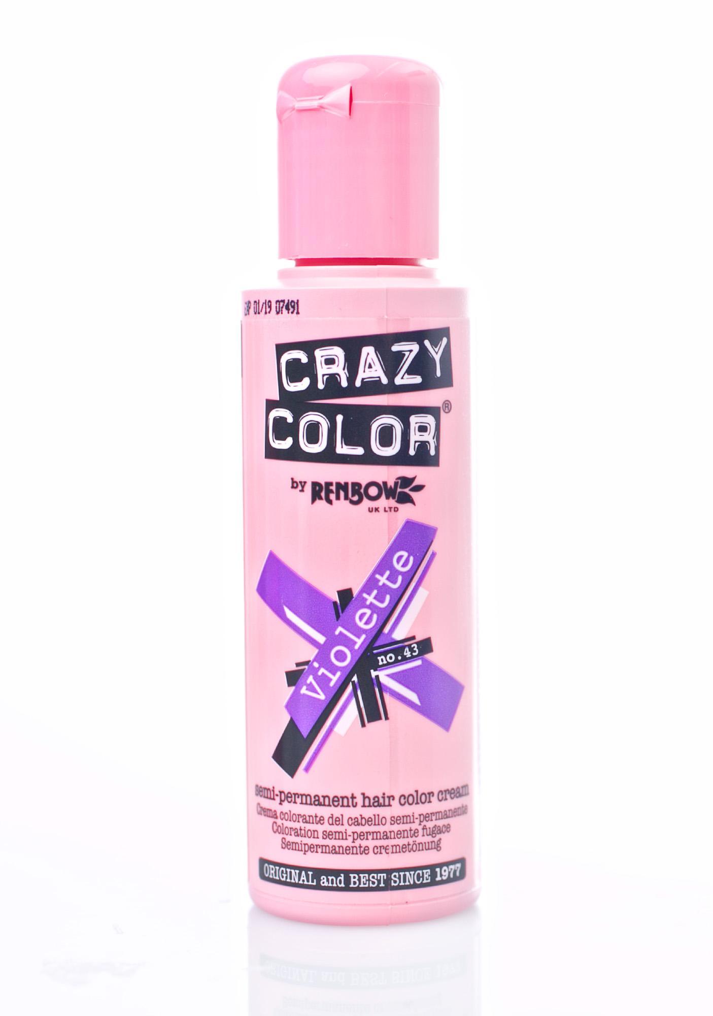 Crazy Color Violette Hair Dye