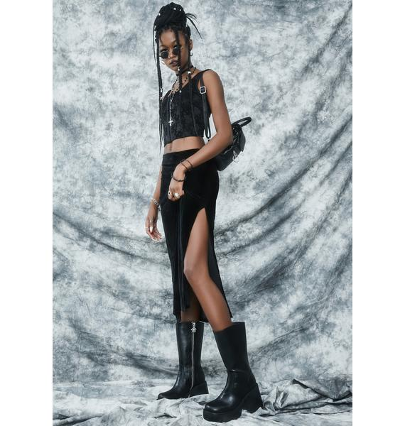 dELiA*s by Dolls Kill Secret Incantation Midi Skirt
